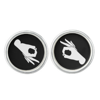 Gotcha You Looked Game Groom or Prom Cufflinks