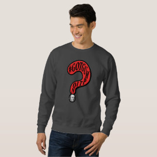 #GOTGUMPTION Question Mark Ben Franklin Design Sweatshirt