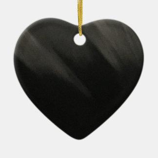 Goth Black Ceramic Ornament