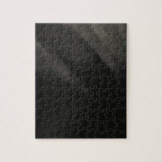 Goth Black Jigsaw Puzzle