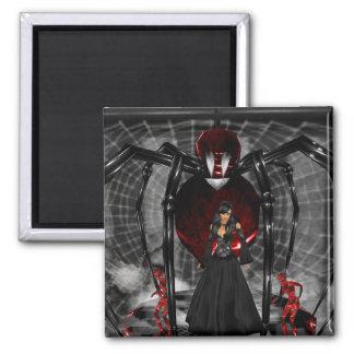 Goth Black Spider Magnet Refrigerator Magnets