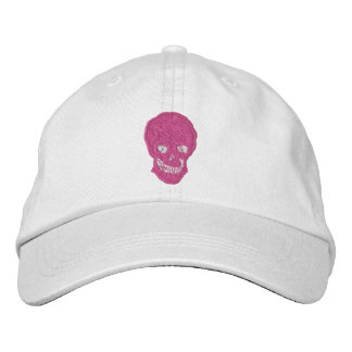 Goth Chick Embroidered Hat