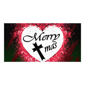 Goth Christmas Photo Cards