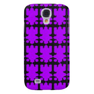 Goth Crucifix - Funky iPhone 3g Cases (purple) Galaxy S4 Case