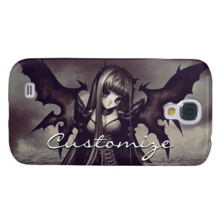 Goth Dark Fairy Anime Galaxy S4 Covers