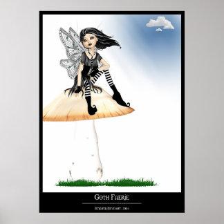Goth Faerie Poster