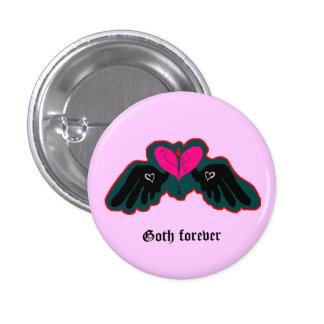Goth Forever Mini Button