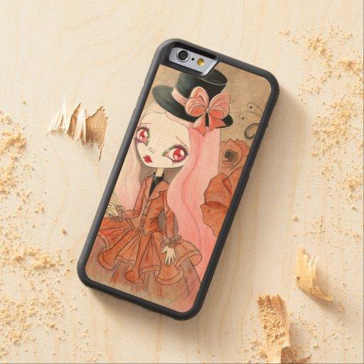 "Goth Girl : ""Abigail"" Carved® Maple iPhone 6 Bumper"