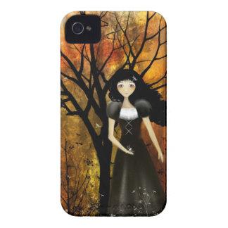 Goth Girl Autumn Blackberry Case