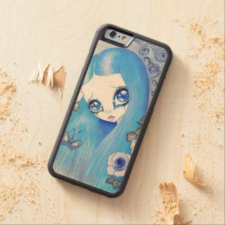 """Goth Girl : """"Christine"""" Maple iPhone 6 Bumper"""