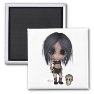 Goth Girl - Magnet