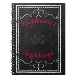 Goth girl notebook