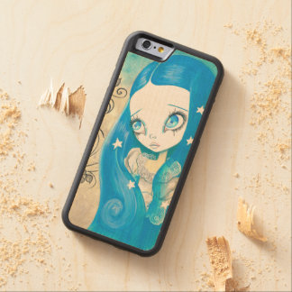 "Goth Girl : ""Sapphyre"" Maple iPhone 6 Bumper"