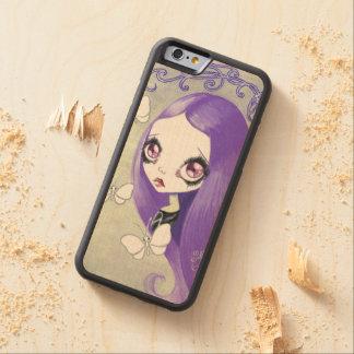 """Goth Girl : """"Violetta"""" Maple iPhone 6 Bumper Case"""