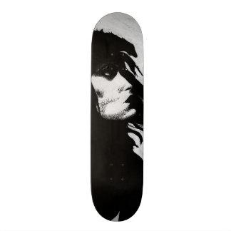 Goth Goddess Portrait Original Art Skate Deck