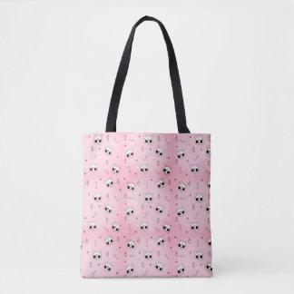 Goth Kitty Tote Bag