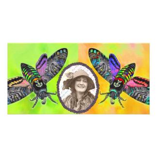 Goth Moth photocard Customized Photo Card