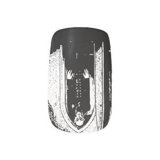 Goth Nail Wrap - Nosferatu (1922) Nail Art