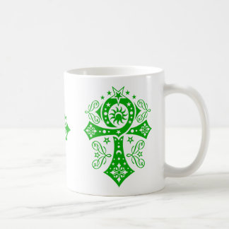 Goth Pagan Egyptian Ankh Symbol Coffee Mug