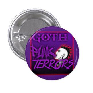 Goth Punk Terrors 3 Cm Round Badge
