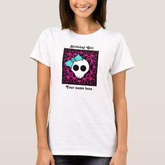 Goth skull sweet 16 birthday girl T-Shirt