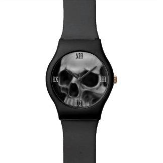 Goth skull wrist watch