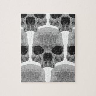 goth skulls jigsaw puzzle