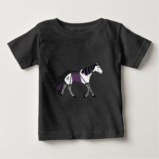 Goth Unicorn Baby T-Shirt