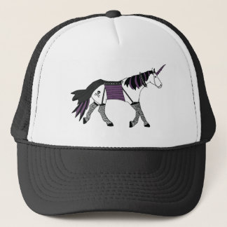 Goth Unicorn Trucker Hat