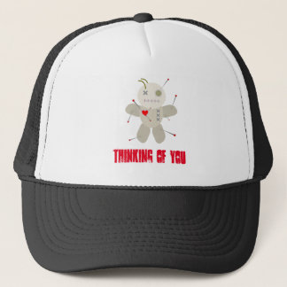 Goth Voodoo Thinking of You Trucker Hat