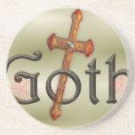 Goth with through cross coaster