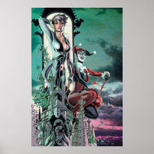 Gotham City Sirens Cv12_R1 Poster