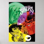 Gotham City Sirens Cv14 Poster