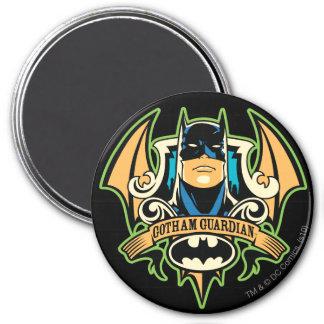 Gotham Guardian 7.5 Cm Round Magnet