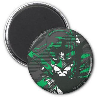 Gotham's Caped Crusader 6 Cm Round Magnet