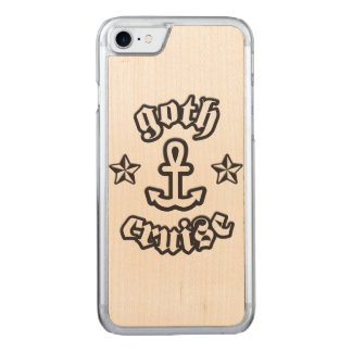 GothCruise Logo Carved® Wood for Phones Carved iPhone 8/7 Case