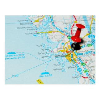 Gothenburg Sweden Postcards Zazzlecomau - Sweden map gothenburg