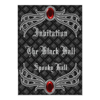 gothic3 invitation.. 13 cm x 18 cm invitation card