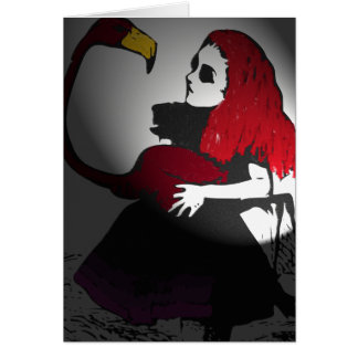 Gothic Alice and Dodo Card
