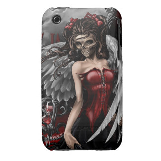 Gothic Angel iPhone 3 Case