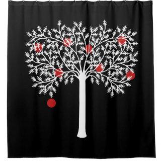 Gothic Apple Tree Shower Curtain
