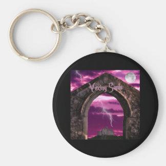 gothic arch key ring