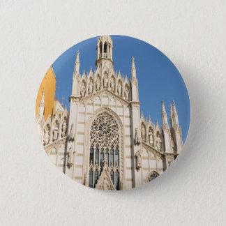 Gothic architecture in Rome, Italy 6 Cm Round Badge