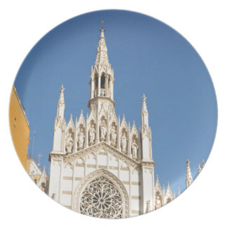 Gothic architecture in Rome, Italy Plate