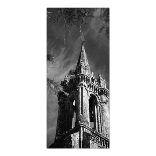 Gothic architecture personalized rack card