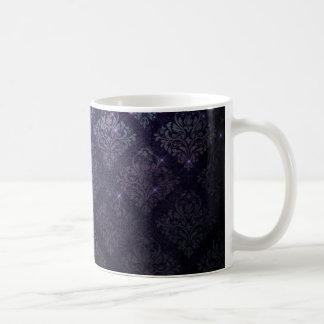 Gothic Baroque Diamond Black Coffee Cup