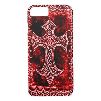 Gothic Blood Cross Symbol iPhone 7 Case