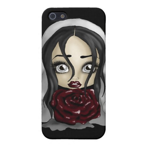 Gothic Bride Covers For iPhone 5