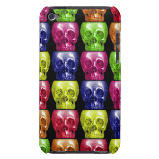 Gothic Bright Colors Skulls Collage Halloween iPod Case-Mate Cases