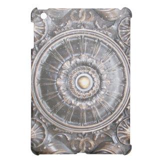Gothic Bronze Work Medallion iPad Case
